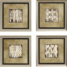 "<strong>Paragon</strong> Aged Elegance by Goldberger Architectural Art - 24"" x 24"" (Set of 4)"