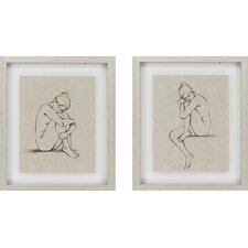 "Nudes by Harper Contemporary Art- 22"" x 26"" (Set of 2)"