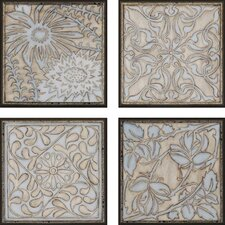 "Filigree by Meagher Architectural Art - 11"" x 11"" (Set of 4)"