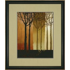 "<strong>Paragon</strong> Trees in Silhouette I by Butler Landscapes Art - 43"" x 37"""