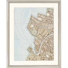 "<strong>Paragon</strong> Plan of Venice by Unknown Architectural Art - 21"" x 17"" (Set of 6)"
