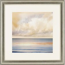 "Ocean Light II by Seba Waterfront Art - 30"" x 30"""