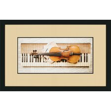 "Keyboard by Burney Traditional Art - 18"" x 28"" (Set of 3)"