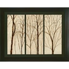 Graceful Trees Framed Original Painting