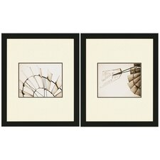 "<strong>Paragon</strong> Windmill Studies by Revells Americana Art - 30"" x 25"" (Set of 2)"