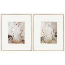 Spa Day by Bridges 2 Piece Framed Painting Print Set