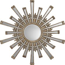 <strong>Paragon</strong> Retro Starburst Contemporary Wall Mirror