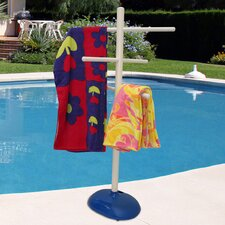 Free Standing Poolside Towel Tree