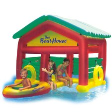 Boat House Floating Pool Habitat