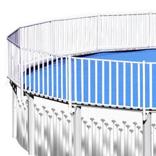 24' x 12' Fensurround Pool Fence