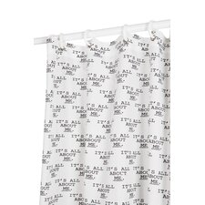 Its All About Me Polyester Shower Curtain
