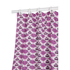 Drama Queen Polyester Shower Curtain