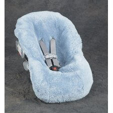 Sheepskin Infant Car Seat Cover