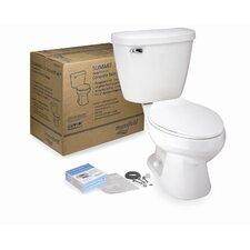 Summit 3 SmartPak Front Complete Round 2 Piece Toilet