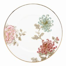 <strong>Marchesa by Lenox</strong> Painted Camellia Accent Plate