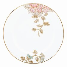 """Painted Camellia 6"""" Butter Plate"""