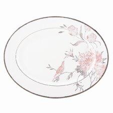 """Spring Lark 13"""" Oval Platter"""