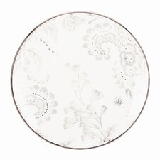 """Paisley Bloom 8"""" Coupe Salad Plate"""