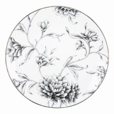 Floral Illustrations Accent Plate