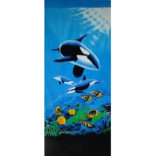 Killer Whale Beach Towel