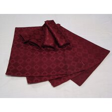 Placemat and Napkin with Diamond Pattern (Set of 4)