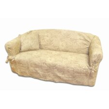 Earthtone Loveseat Slipcover