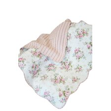 Rose Perfume Spring Rose Cotton Throw