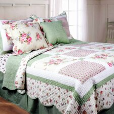 <strong>Textiles Plus Inc.</strong> Spring Patch Mini Quilt Set