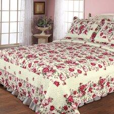 Rose Garden Quilt Set