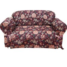 <strong>Textiles Plus Inc.</strong> Tapestry Loveseat Slipcover