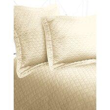 Luxury Cotton Sateen Diamond Coverlet
