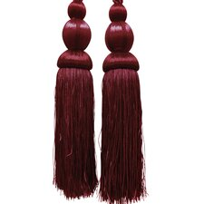 Rome Tassel Curtain Tieback (Set of 2)