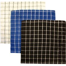 Check Dish Cloth (Set of 12)