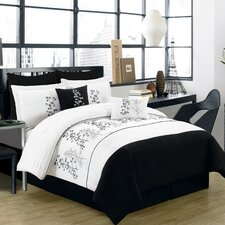 Embroidery 7 Piece Comforter Set