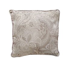 Jacquard Paisley Cushion