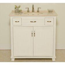 """Newton 36"""" Single Bathroom Vanity Set"""