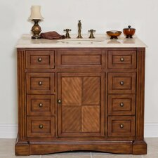 "<strong>Global Treasures</strong> Stanton 42"" Single Sink Vanity Set"