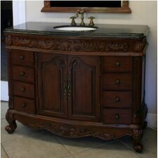 "Southport 48"" Sink Cabinet Bathroom Vanity Set"