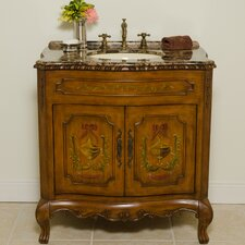 "<strong>Global Treasures</strong> Juliet 34"" Bathroom Vanity Set"