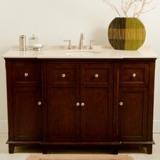 "Josephine 53"" Single Bathroom Vanity Set"