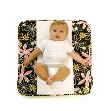 <strong>Ah Goo Baby</strong> The Plush Pad Memory Foam Changing Pad in Retro Daisy
