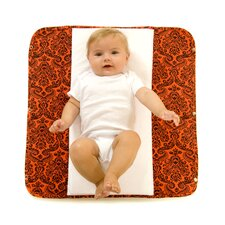 <strong>Ah Goo Baby</strong> The Plush Pad Memory Foam Changing Pad in Salsa