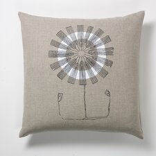 Daisy Flower Pillow