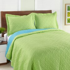 Reversible 2 Piece Quilt Set