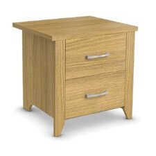 Whitby 2 Drawer Bedside Table