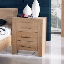 Jive 3 Drawer Bedside Table