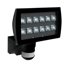 Luxomat FL2-LED Security Wall Semi-Flush Light