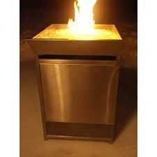 Outdoor Stainless Steel Gas Fire Column