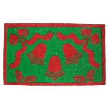 Christmas Bells Doormat