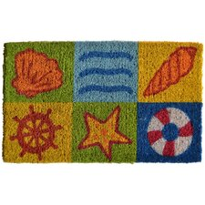 <strong>Imports Decor</strong> Ocean Life Doormat